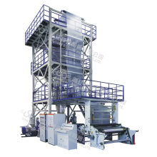 Máquina de soplado de película de coextrusión de tres a cinco capas