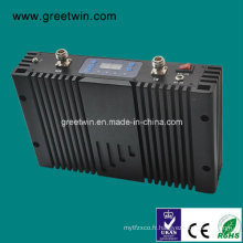 20dBm Egsm900MHz WCDMA amplificateur de signal répéteur double bande pour bureau