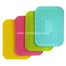 Kitchen Accessories Mat Cup Saucer Hot Dish Pot Silicone Coaster