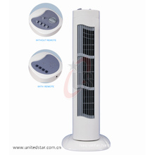 Heating Cooling Tower Fan Rechargeable Tower Fan Tower Fan with Remote