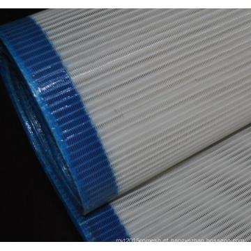 China Poliéster do jacquard que forma a tela para os moinhos de papel
