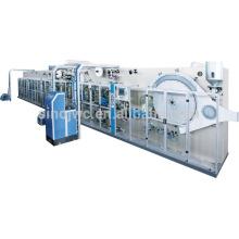 Aways absorvente de água ultra almofadas sanitárias máquina JWC-KBD600