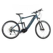 48V 500W Bafang MID-Motor Full Suspension Mountain E-Bike