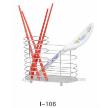 Metal or stainless steel chopsticks stand,multi kitchen chopsticks rack