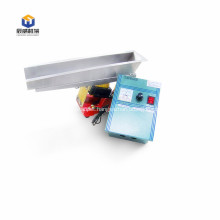 Tiny electromagnetic vibratory feeder for fish meal
