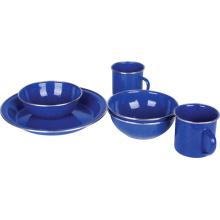 Utensilios de la comida campestre del esmalte de la alta calidad (LF-A201)