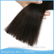 Popular full cuticle shed free brazilian human hair bulk