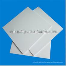 2-5mm virgen puro / reciclado personalizado PTFE placa de procesamiento
