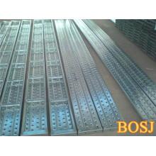 Placa de andaimes de metal durável usada para construção
