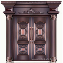 Good quality 100% pure copper double main door designs