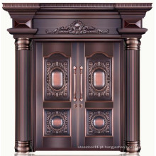 Boa qualidade 100% cobre puro duplo porta principal projetos