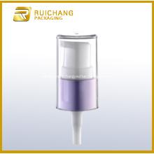 18mm Aluminium cosmétiques crème pompe