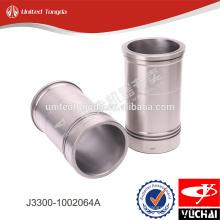 Forro do cilindro do motor YC6J J3300-1002064A para yuchai