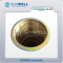 Spiral Wound Gasket, CS Rings, Zinc Plating Yellow (SUNWELL)