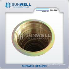 Спиральная набивка прокладок, Кольца CS, Цинковое покрытие Желтое (SUNWELL)
