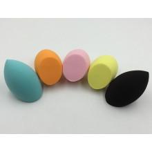 Губка для макияжа без латекса в форме оливкового цвета, гидрофильная губка без латекса