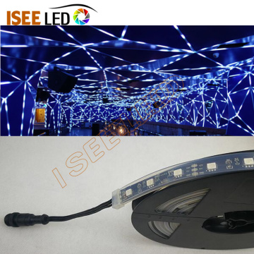عكس الضوء DMX RGB LED قطاع مرنة