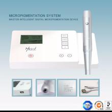 Tipo de arma elétrica e máquina de micropigmentação digital de função permanente