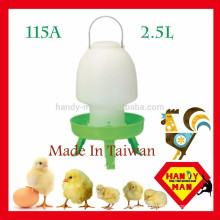 Small Medium Plastic Ball Type Drinker With 3 legs Poultry Drinker