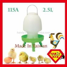 Маленький средний пластиковый шар Тип Поилка с 3 ноги птицы пьяница
