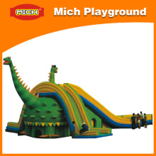 Huge Attractive Inflatable Bouncer and Slide (1225D)