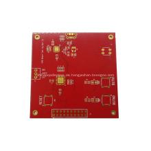 Rote Lötmaske einseitige ENIG-Platine