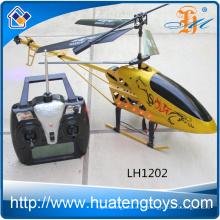 Nuevo modelo del helicóptero del color del oro rc 3.5 helicóptero del juguete del vuelo del canal