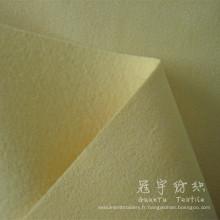 Tissu Polyester cuir Suede servile pour Textile à la maison