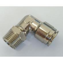 Air-Fluid Swivel Male Elbow Push in Fittings