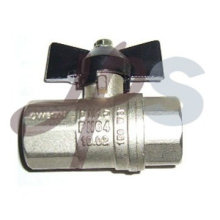 aluminum handle full port ball valve
