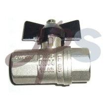 алюминиевая ручка полный порт шариковый клапан