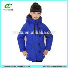 chaqueta acolchada al aire libre de invierno para niños