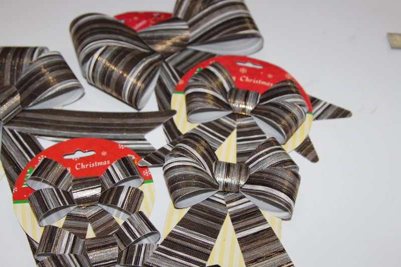 Christmas Ribbon Bow Ties