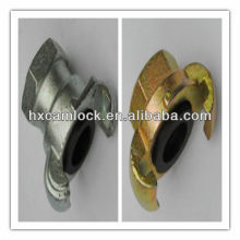 Female claw coupling US type, European type
