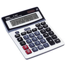 Office electronic soloar 12 digits LED display calculator