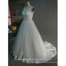 100% Real Dress Lace Up Ball Gown Quality 2017 Plus Size Bridal Alibaba Wedding Dress WW853