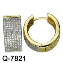 Новая модель медь ювелирные изделия серьги Huggies с завода конкурентоспособная Цена