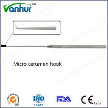 EN T Хирургические инструменты Micro Cerumen Hook