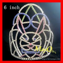 Corona de fiesta de cristal de Pascua