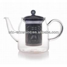 Китай Товары Оптом Подарок Handblown Стекла Боросиликатного Стеклянный Чайник С Стрейнером