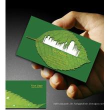Visitenkarte Heißprägefolie Karte mit günstigen Preis