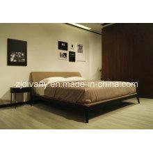 Chambre à coucher en bois tissu lit (A-B44)