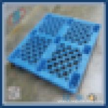 Palettes en plastique renforcé pour rack de rangement