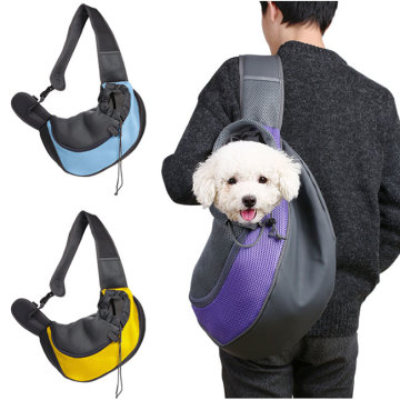 Bröst Front Dog Cat Pet Sling Shoulder Carrier