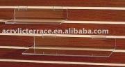 Acrylic Flat Shelves Slatwall