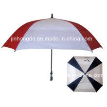 Dauerhafter Auto-offener gerader Golf-Regenschirm (YSGO0006)