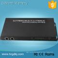 8 fibre port 2 RJ-45 fibre unique ip tv convertisseur