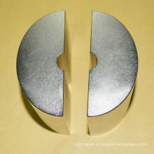 Сегментный сегментный сегмент NdFeB неодимового магнита конкурентоспособной цены