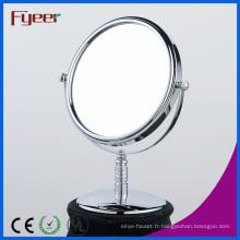 Fyeer Desktop - Miroir de maquillage rond gratuit de 8 pouces