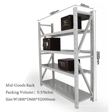 warehouse metal tool storage rack, supermarket goods rack, inventory shelf